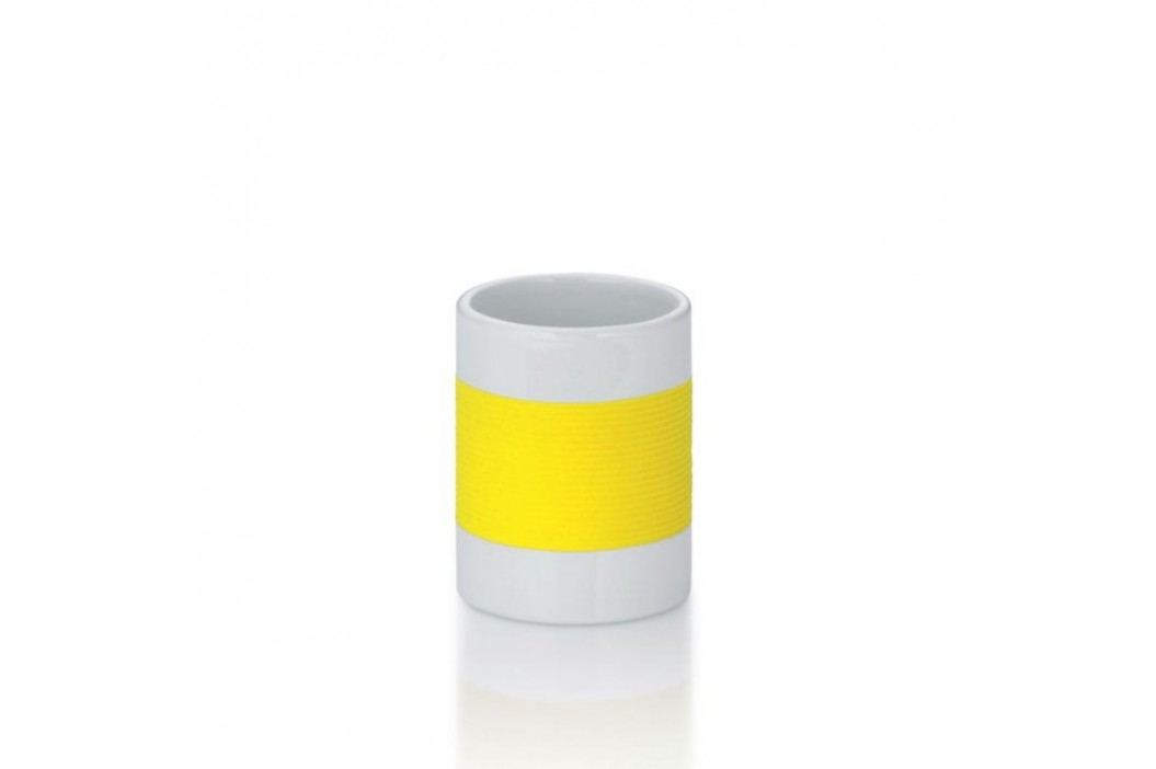 Pohár keramika guma LALETTA žlutá KELA KL-22646