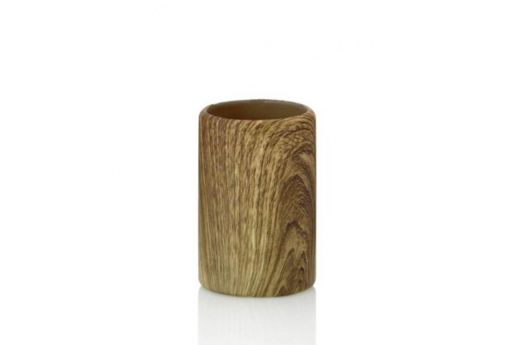 Pohár KAMBIUM keramika, design dřevo KELA KL-20576