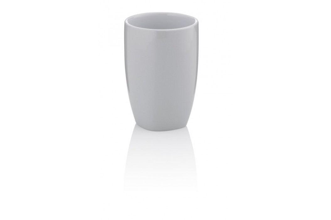 Pohár LANDORA keramika šedá KELA KL-20406