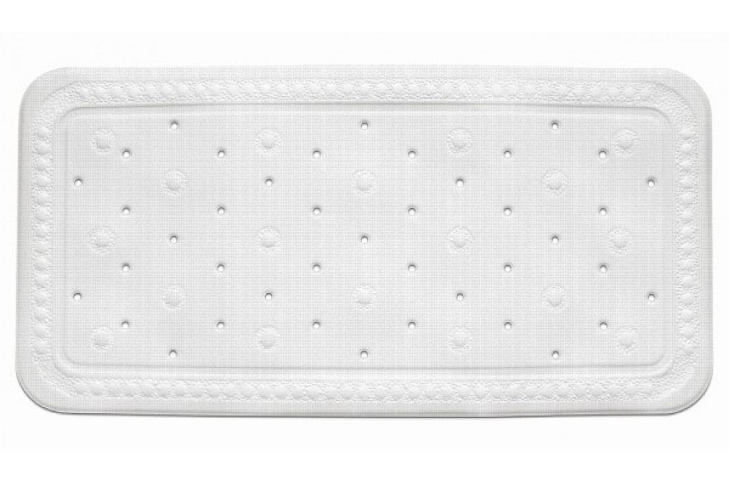 Vanová podložka KRETA PVC bílá 72x36cm KELA KL-22361