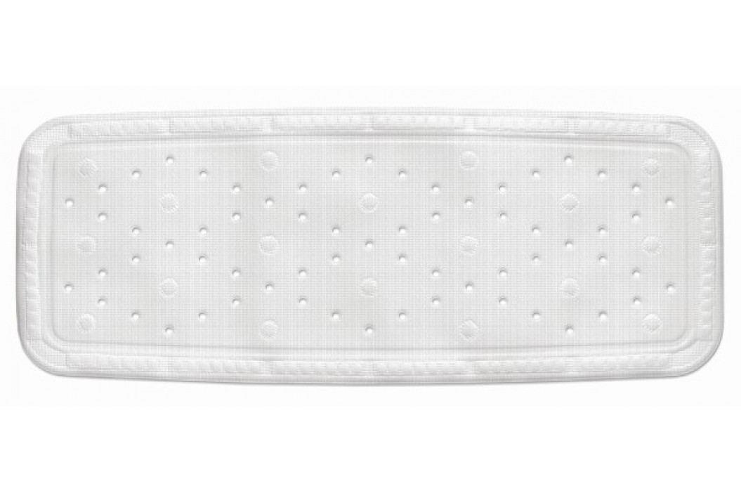 Vanová podložka KRETA PVC bílá 92x36cm KELA KL-22362