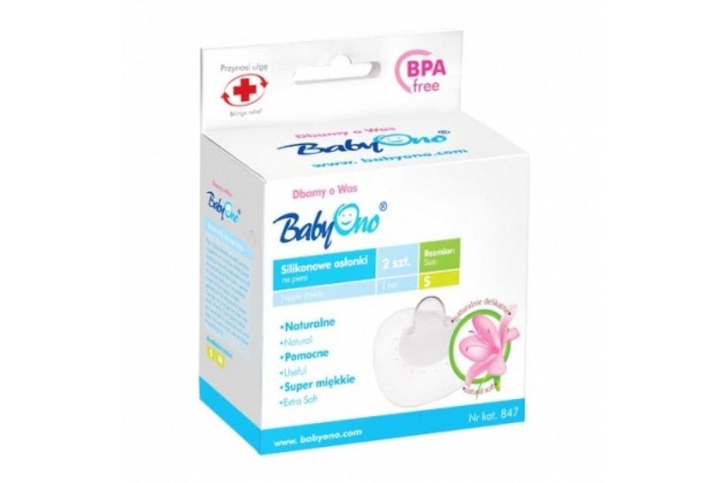 BABY ONO - Silikonová ochrana prsních bradavek - M