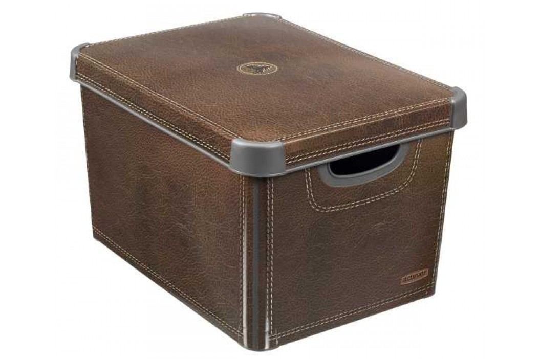 CURVER - Box, umělá hmota, hnědý obrázek inspirace