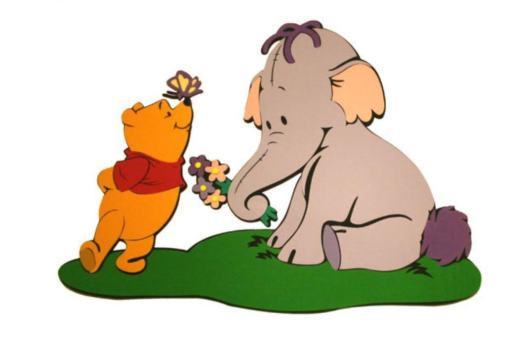 DISNEY - Pooh se sloníkem