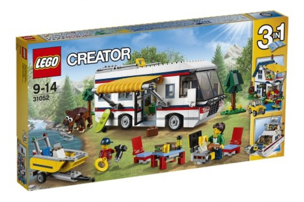 LEGO - Creator 31052 Prázdninový karavan