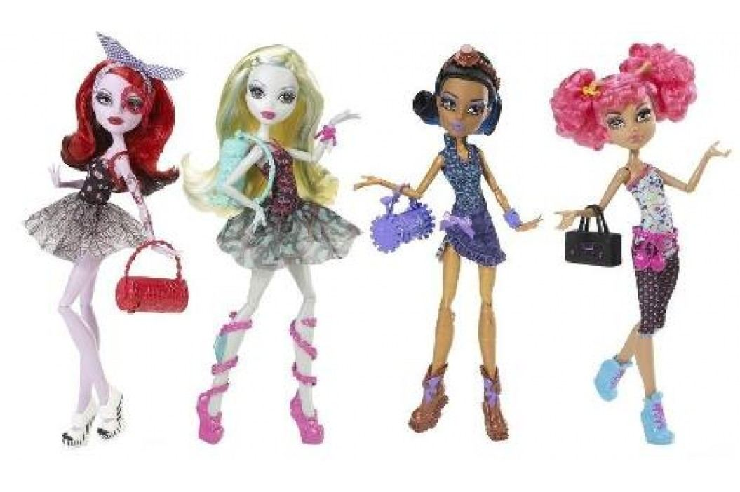 MATTEL - Monster High Disko příšerky Y0430 asort
