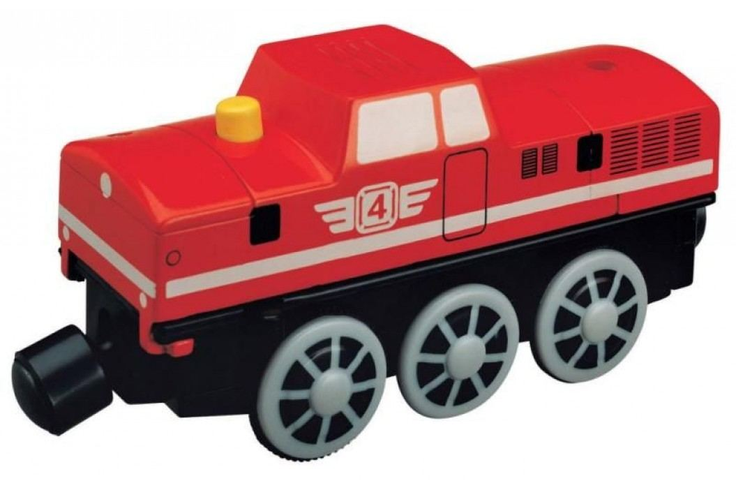 MAXIM - Dieselová lokomotiva-Červená