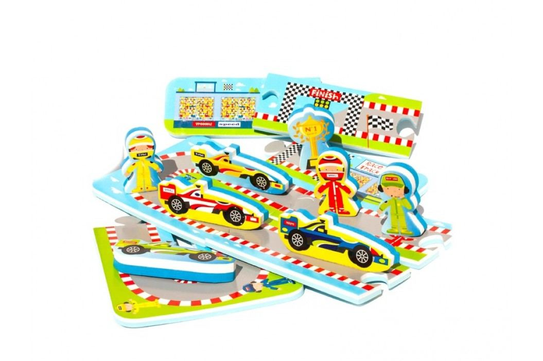 MEADOW KIDS - Puzzle do vany Automobilový závod