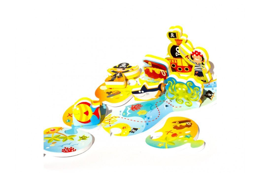 MEADOW KIDS - Puzzle do vany Ostrov pokladů