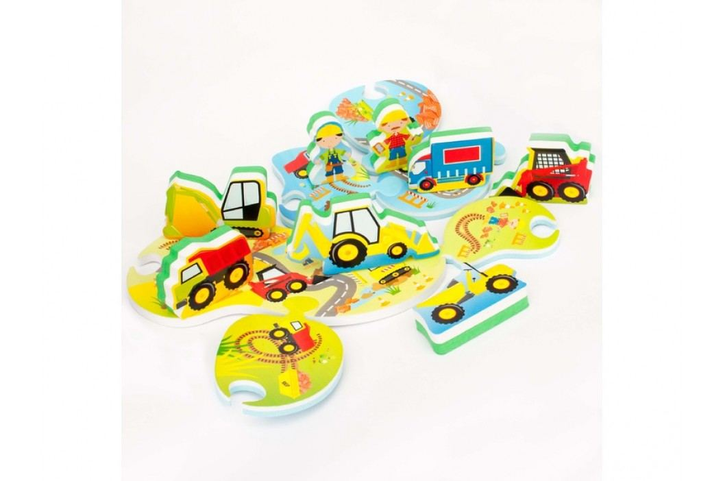 MEADOW KIDS - Puzzle do vany Stavba