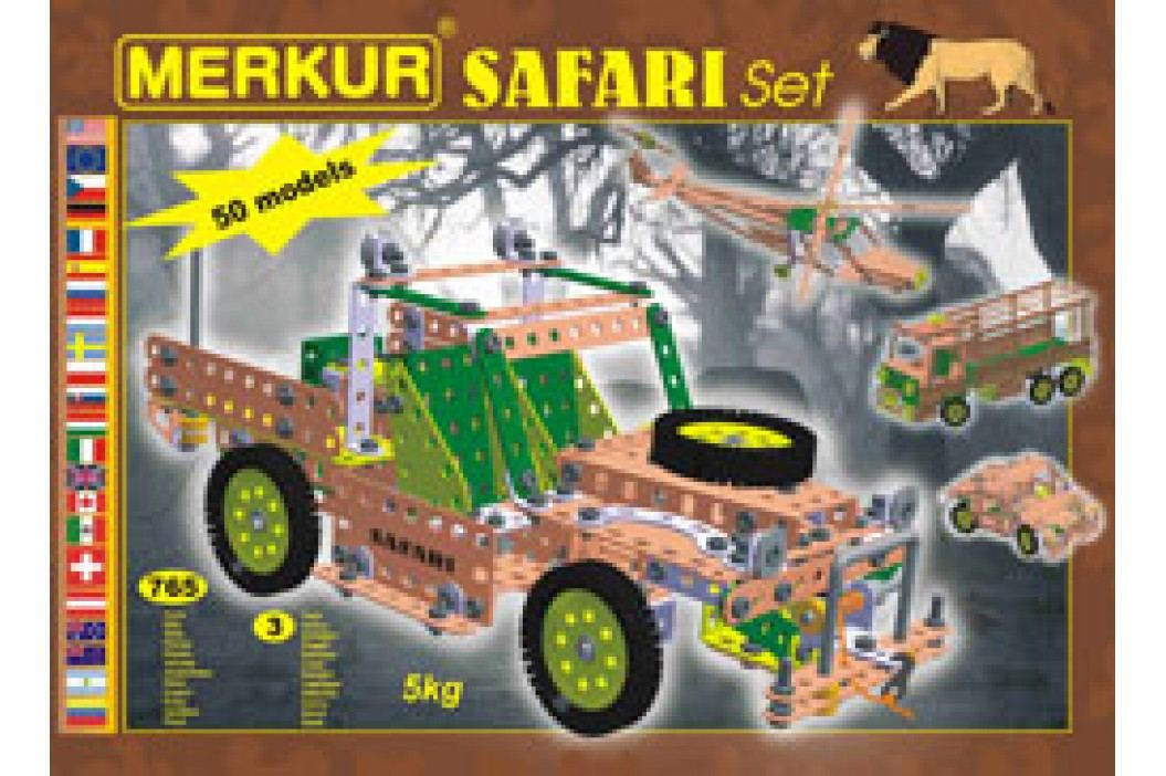 MERKUR - Stavebnice Safari