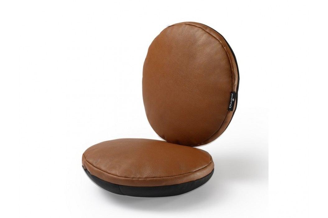 MIMA - Sada sedacích polštářů do židle Moon - hnědá
