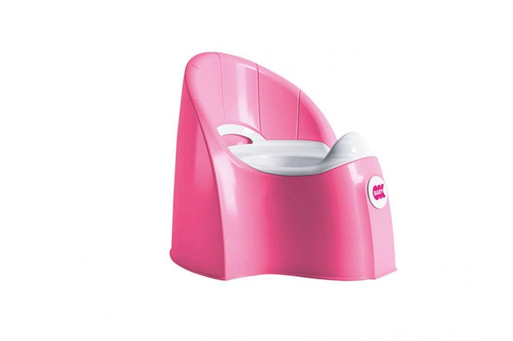 OK BABY - Nočník PASHA - růžový (66)