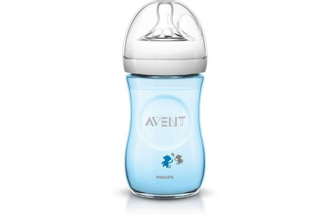 PHILIPS AVENT - Avent láhev 260ml Natural PP opice