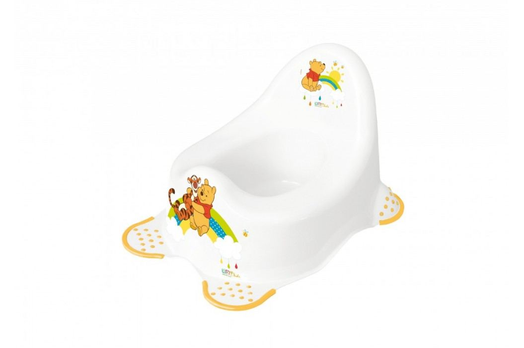 Dětský nočník 2K Winnie Pooh - Bílý