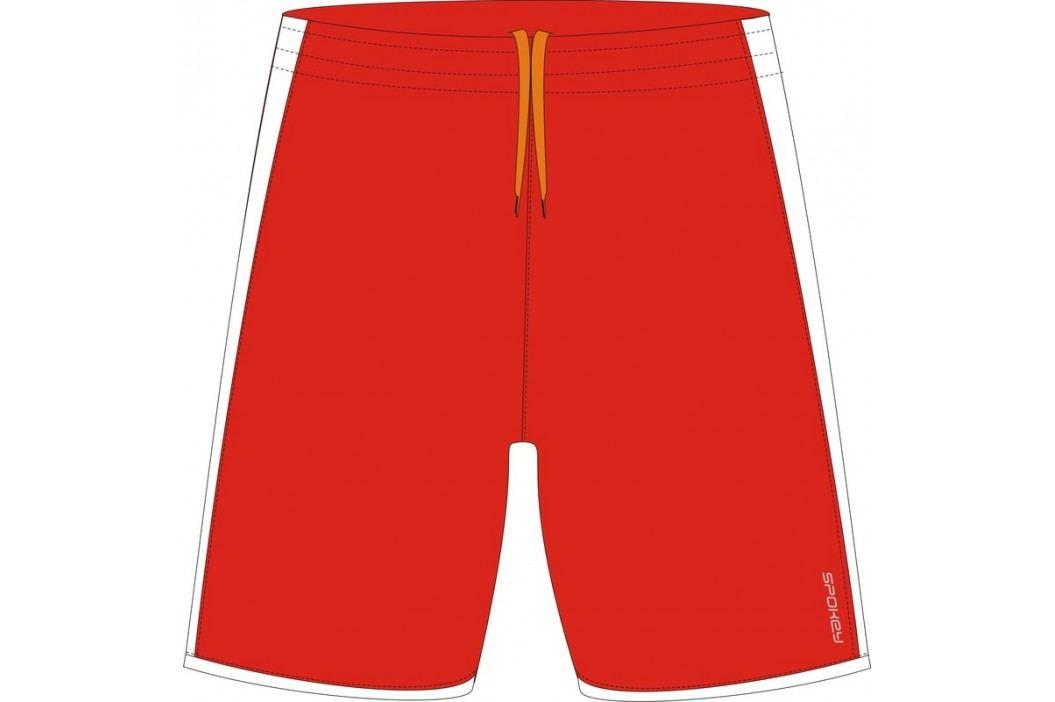 SPOKEY - Fotbalové šortky červeno-bílé vel. M