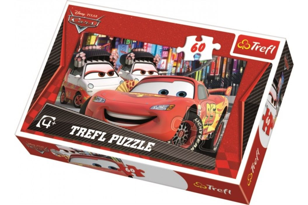 TREFL - Puzzle Cars 60 dílů