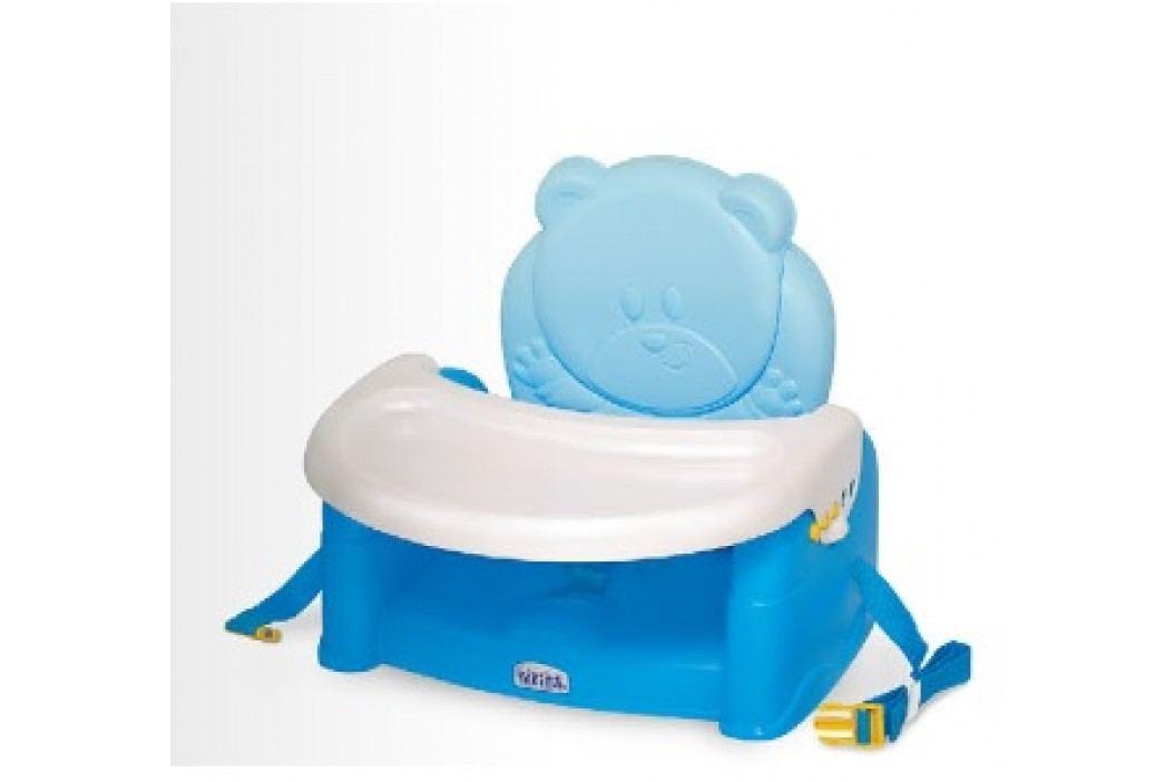 WEINA - Židlička ke stolu TEDDY BEAR - modrá