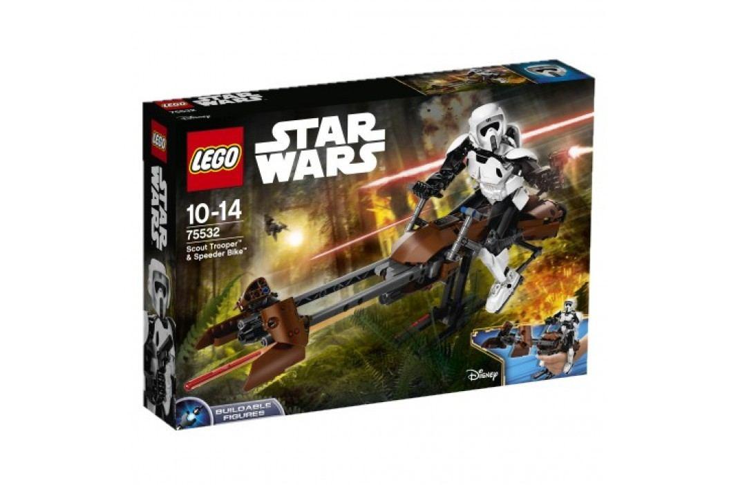 LEGO - Star Wars 75532 Průzkumný voják a speederová motorka obrázek inspirace