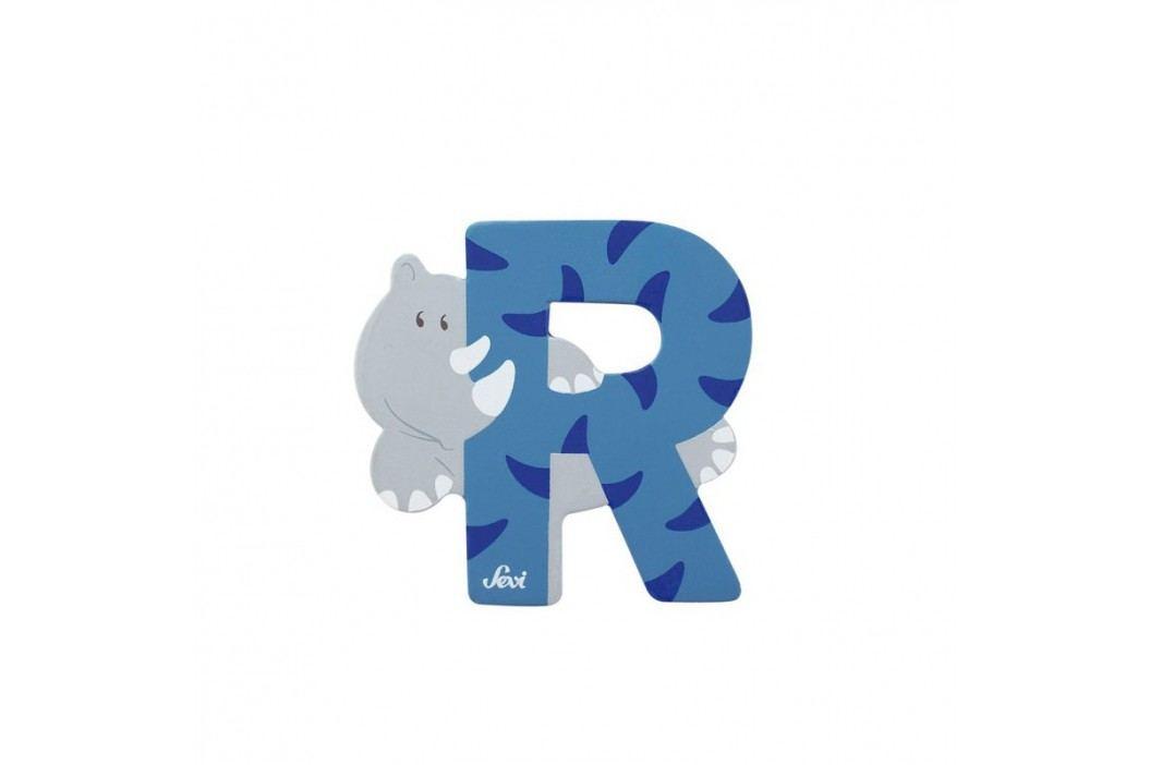 SEVI - Písmenko R - Zvířátko