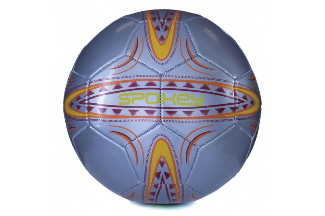 SPOKEY - FERRUM Fotbalový míč vel..5  stříbrno-oranžový