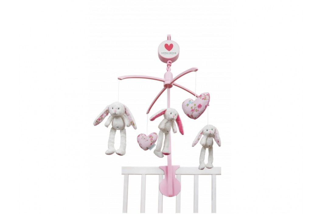 TIAMO - Kolotoč zajačikovia biela/ružová obrázek inspirace