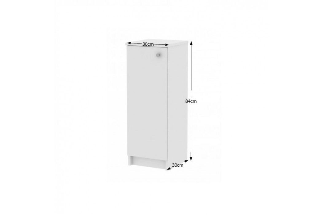 Spodní skříňka GALENA SI07, bílá