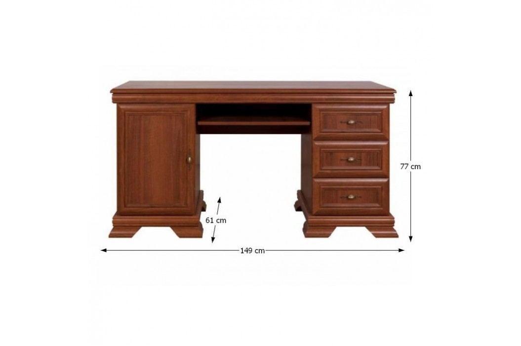 PC stolek typ 13  GRAND, ořech