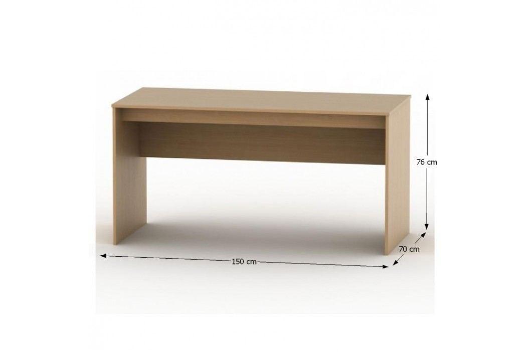 Psací stůl 150, buk, TEMPO AS NEW 020 PI