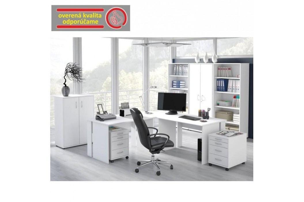 PC stůl, bílá, BEK- 09