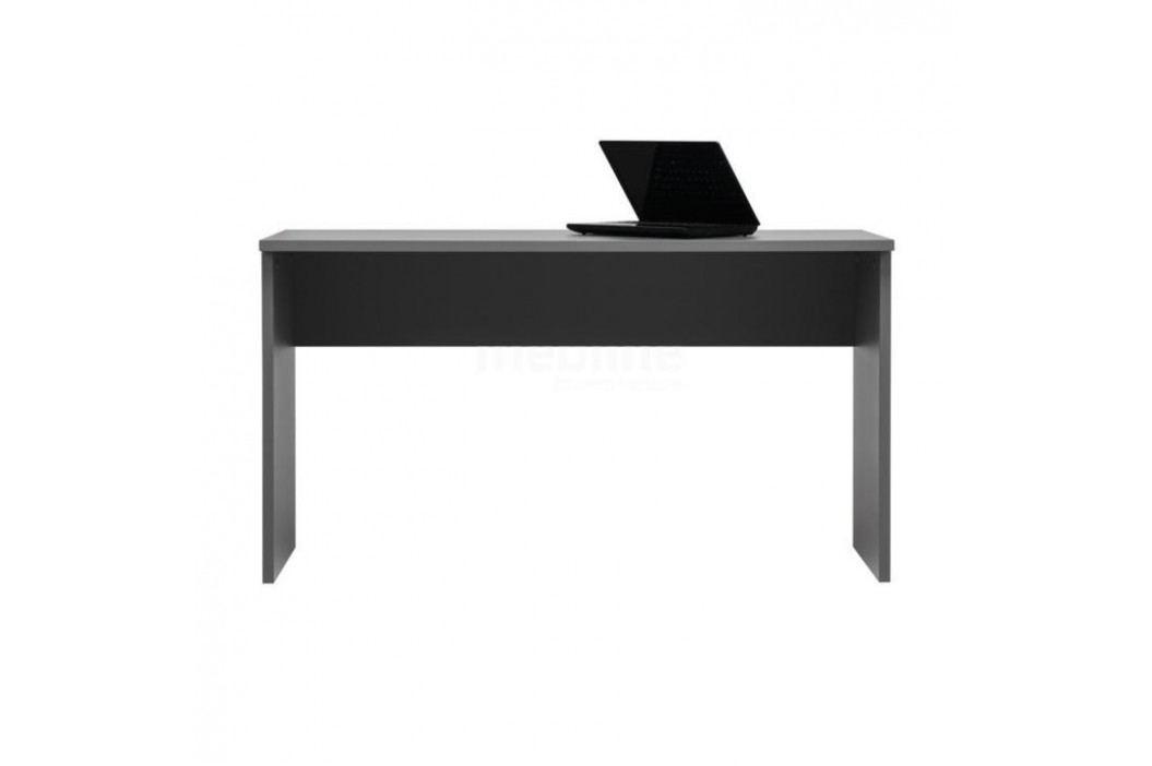 Psací stůl M5, DTD laminovaná, šedá grafit, Marsie