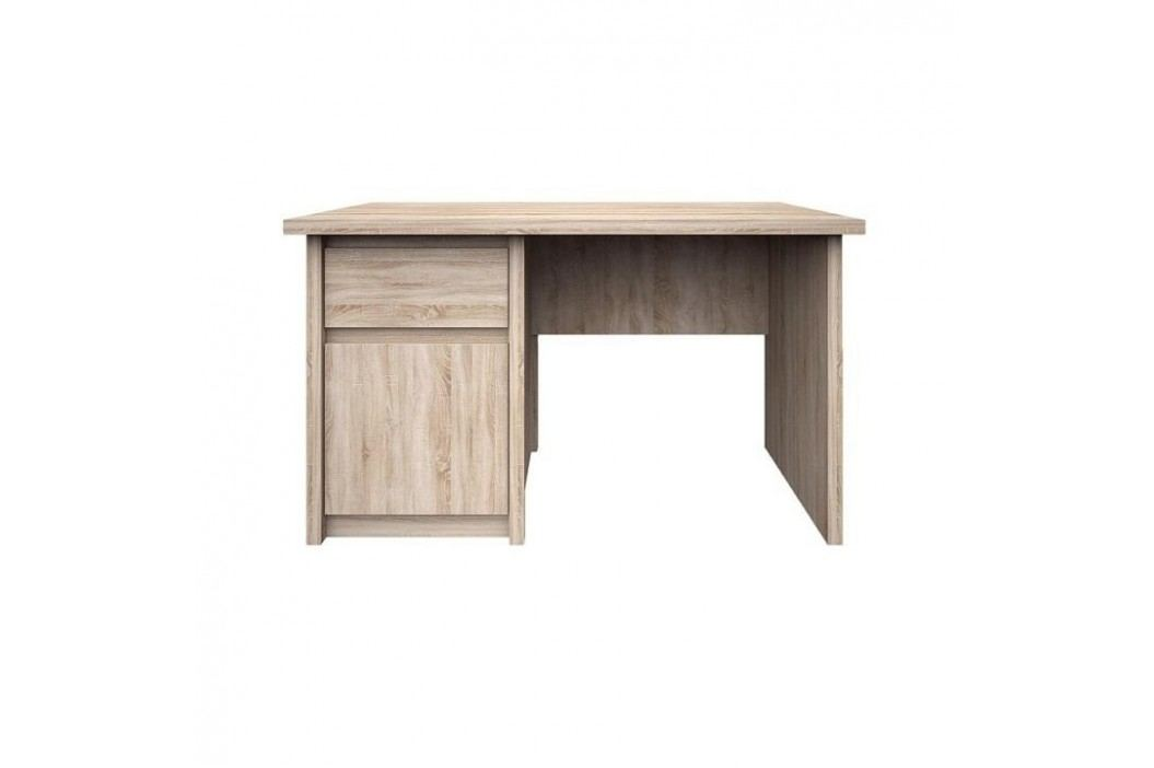 Pc stůl, DTD laminovaná, Dub sonoma, NORTY