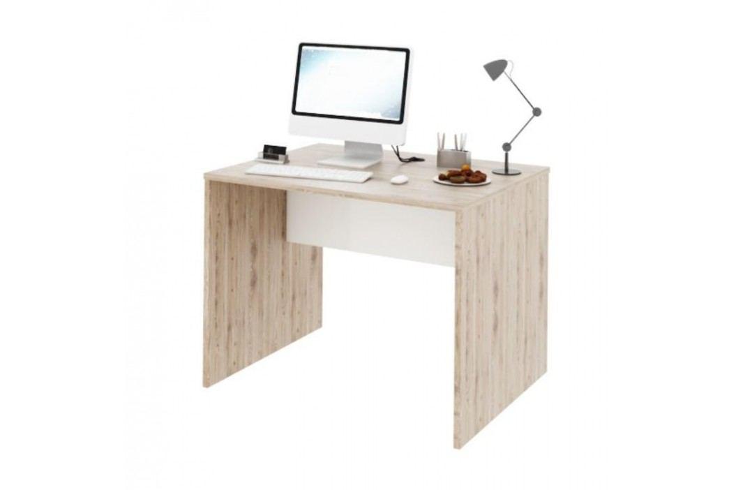 PC stůl, san remo / bílá, Rioma TYP 12