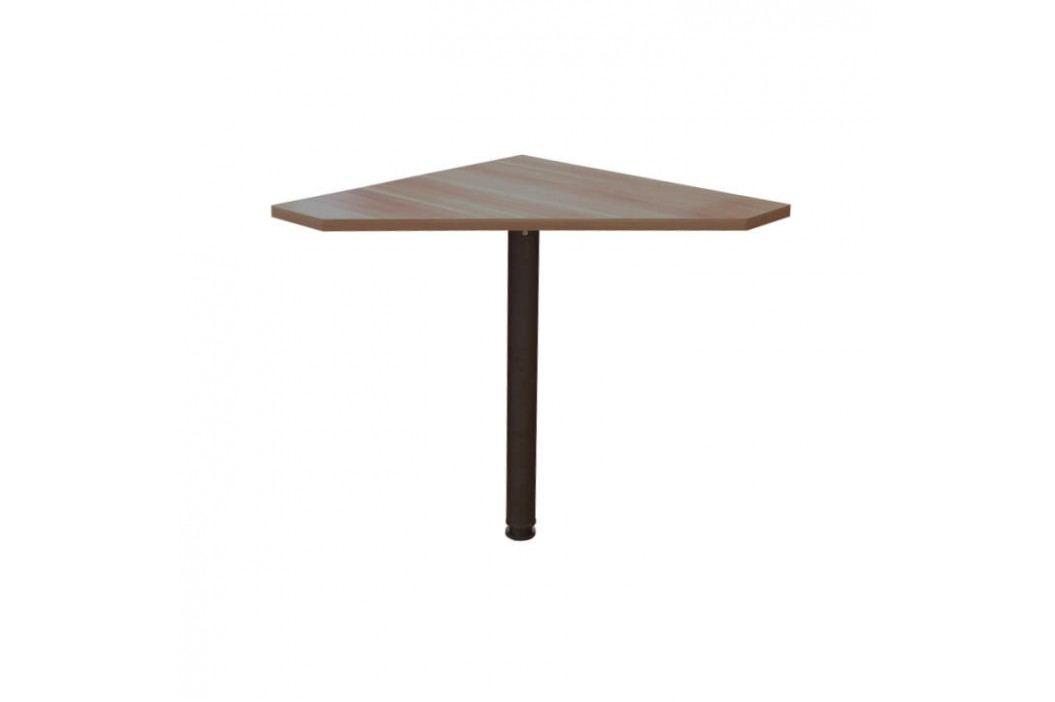 Rohový PC stůl, švestka, JOHAN NEW 06