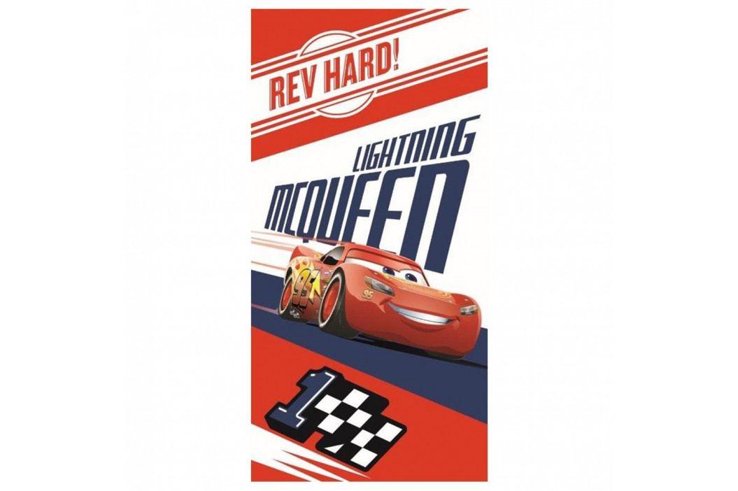 Dětská osuška Cars McQueen 70x140 cm barevná