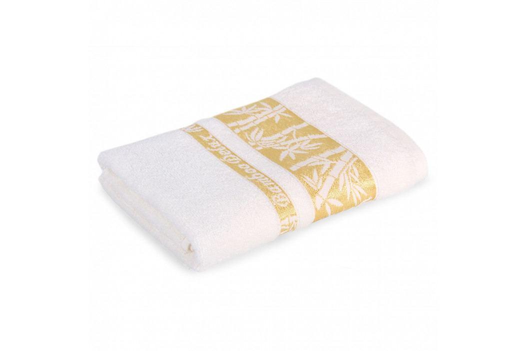 Bambusový ručník Bonia krémový 50x90 cm Ručník