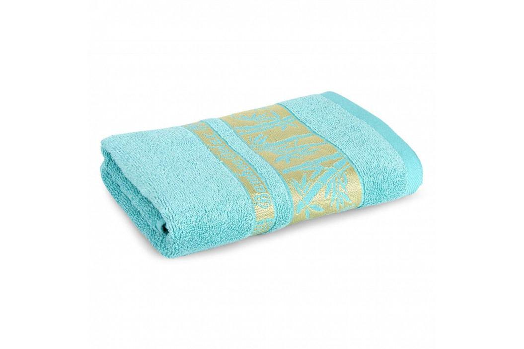 Bambusový ručník Bonia tyrkysový 50x90 cm Ručník