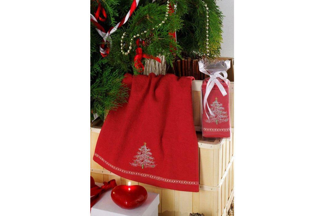 Ručník Christmas tree 30x50 cm Ručník malý