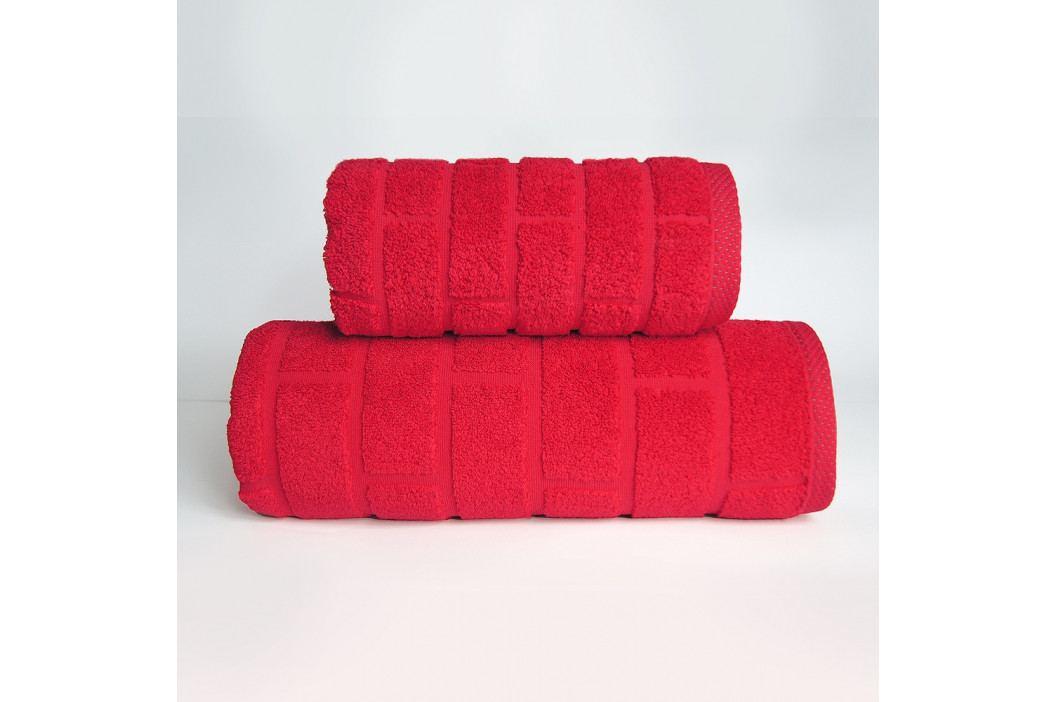 Ručník Brick červený 50x90 cm Ručník