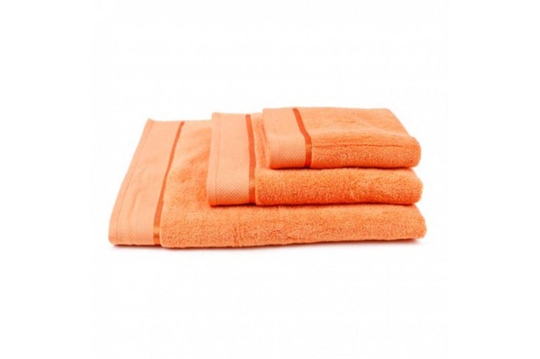 Ručník mikrobavlna oranžový 70x140 cm Osuška obrázek inspirace