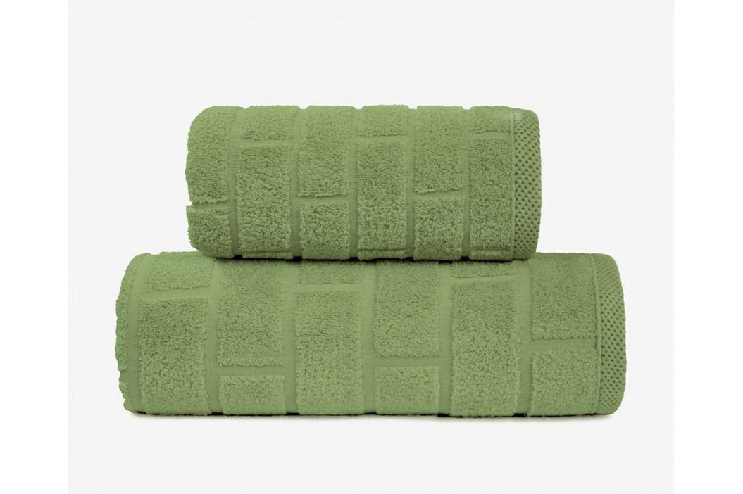Ručník Brick olivový 50x90 cm Ručník