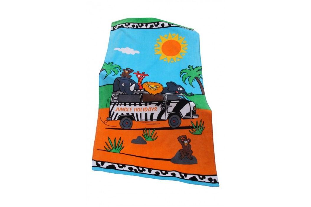 Dětská plážová osuška Jungle 70x140 cm; 320 gr/m2 barevná