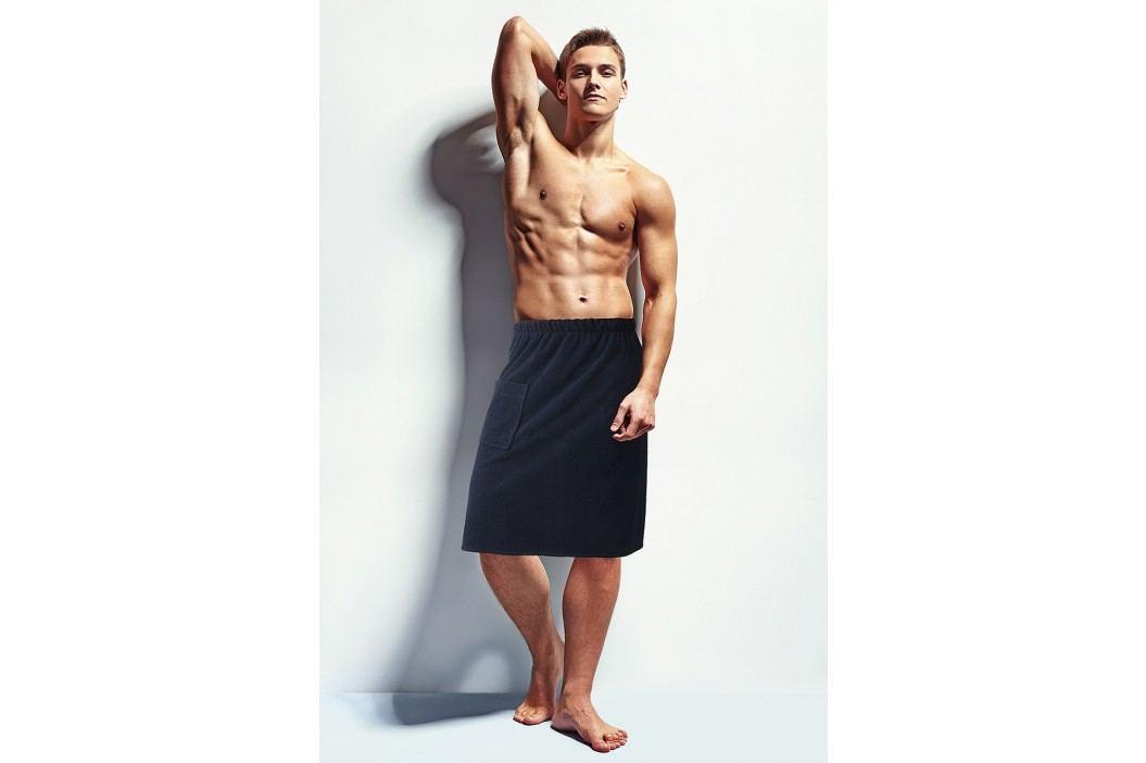 Pánský sauna ručník M/L Tmavěmodrá