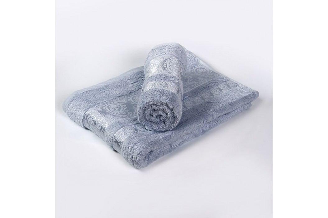 Bambusový ručník Bella světle modrý 50x90 cm; 440 g/m2; Ručník