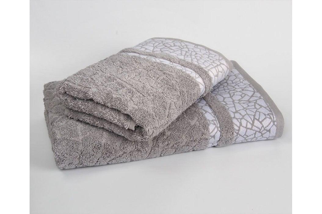 Ručník Kréta světle šedý 70x140 cm; 500g/m2 Osuška