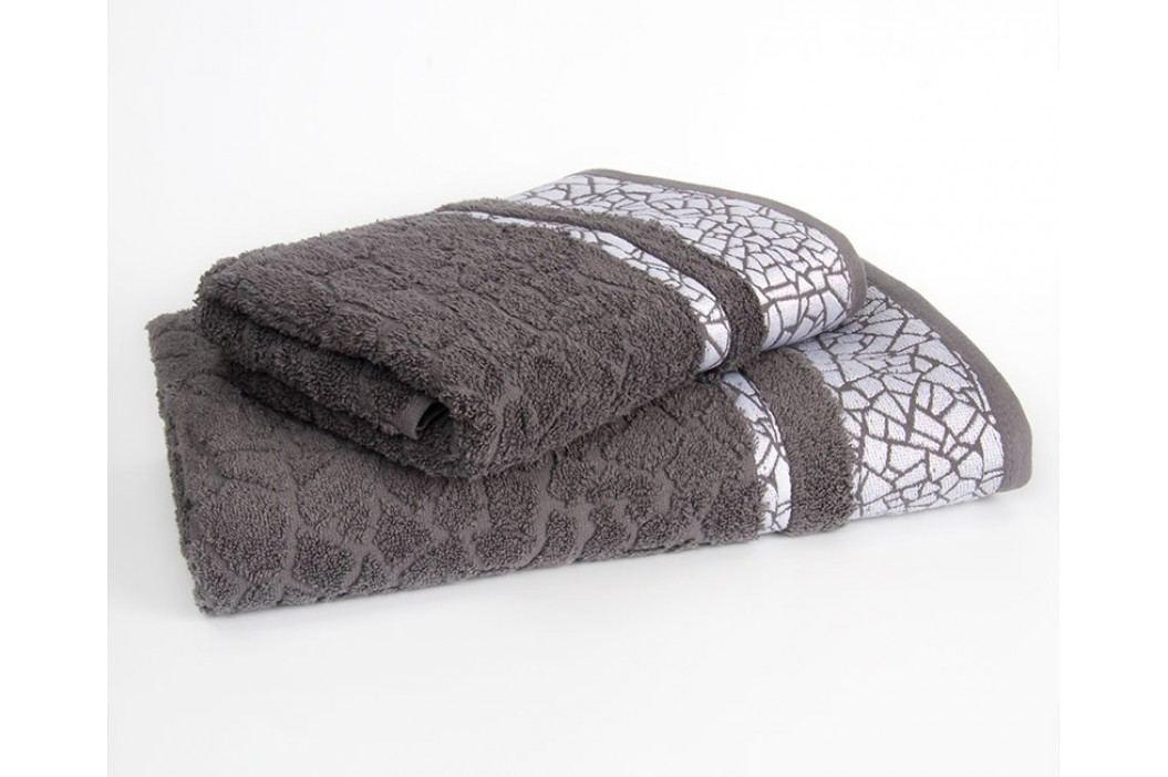 Ručník Kréta tmavě šedý 70x140 cm; 500g/m2 Osuška