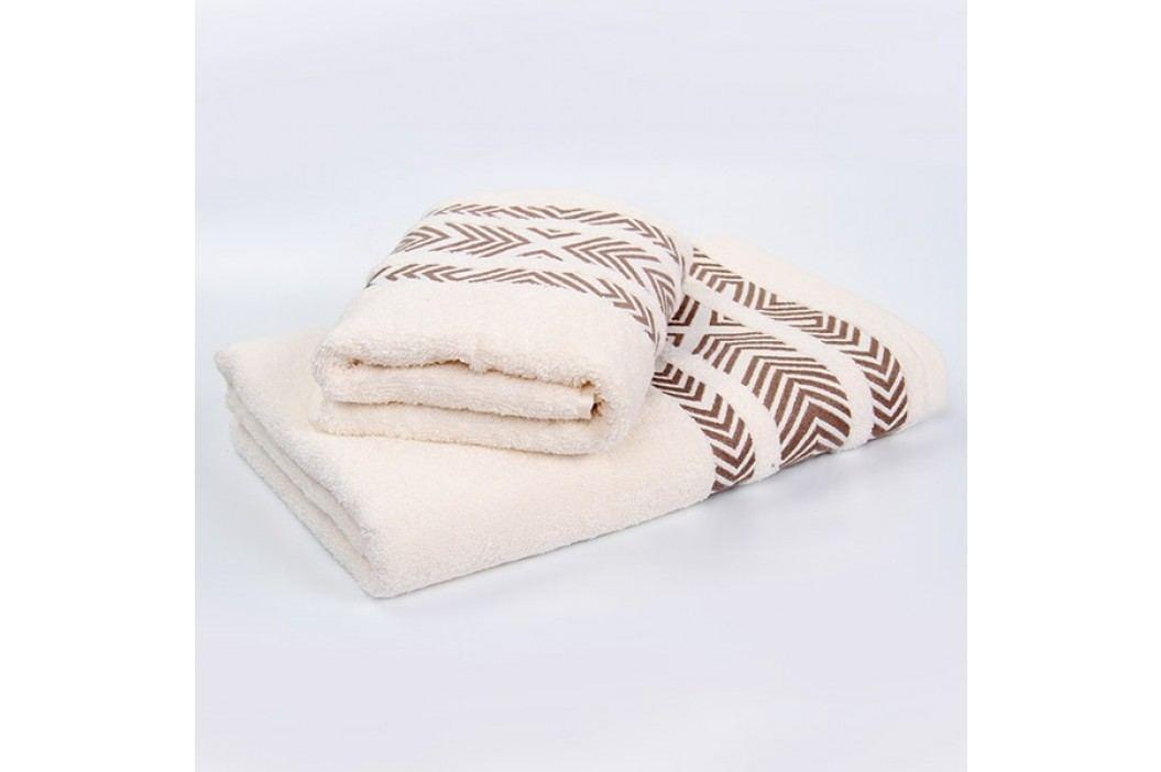 Bambusový ručník Tara - ecru 70x140 cm; 440 g/m2; Osuška