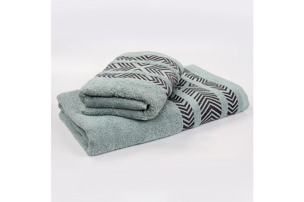 Bambusový ručník Tara - mátový 50x90 cm; 440 g/m2; Ručník