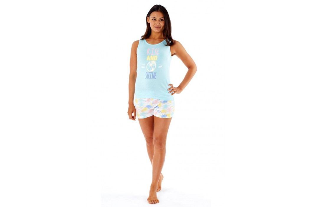 Dámské pyžamo Rise&Shine S (8/10) světlemodrá