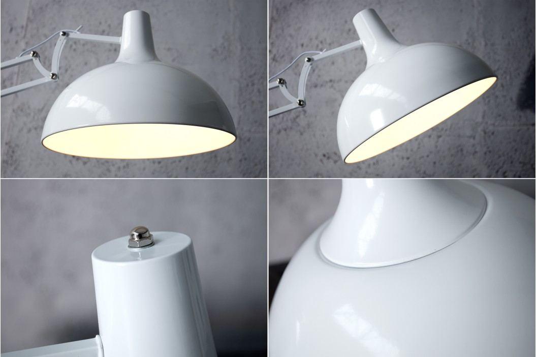 Stojíci lampa LOFT - bíla